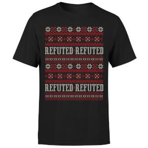 Refuted Christmas T-Shirt - Black