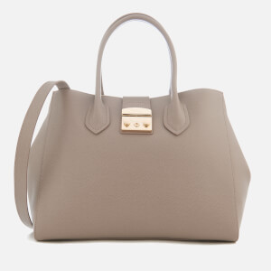 Furla Women's Metropolis Large Tote Bag - Grey
