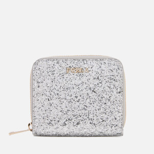 Furla Women's Babylon Small Zip Around Wallet - Silver