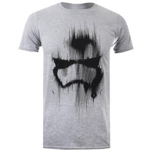 Star Wars Men's Trooper Mask T-Shirt - Grey Marl
