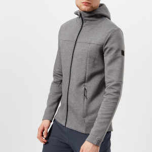 Under Armour Men's Sportstyle Elite Utility Full Zip Jacket - Steel Full Heather/Black