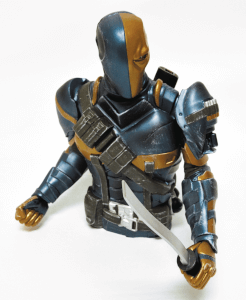 DC Comics Deathstroke Bust Money Bank