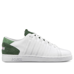 K-Swiss Men's Lozan III TT Trainers - White/Black Forest/Vineyard