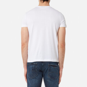 Emporio Armani Men's Aj Chest Logo T-Shirt - Bianco Ottico: Image 2