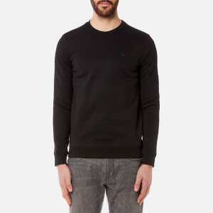 Emporio Armani Men's Small Logo Sweatshirt - Nero