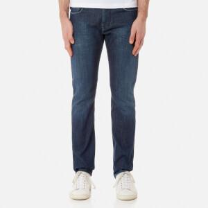 Emporio Armani Men's J06 5 Pocket Slim Jeans - Blu