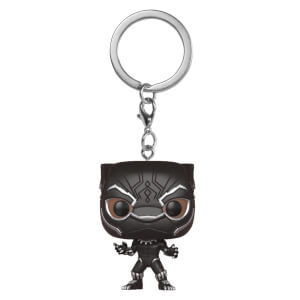 Llavero Pocket Pop! Pantera Negra - Black Panther