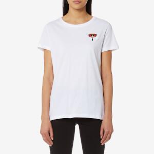 Karl Lagerfeld Women's Ikonik Emoji T-Shirt - White