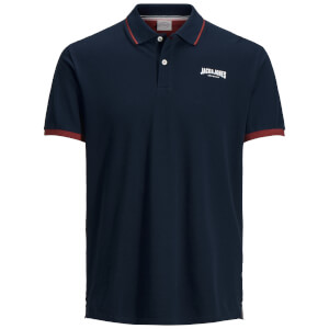 Polo Homme Originals Retro Jack & Jones - Bleu Marine