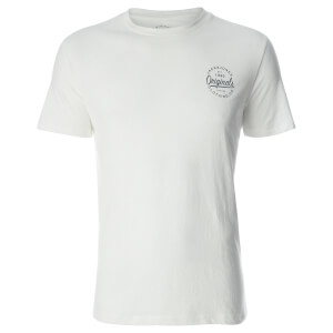 T-Shirt Homme Originals Breezes Jack & Jones - Blanc