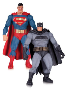 DC Figs Dark Knight Returns Batman & Superman 2pk(30th Anniv