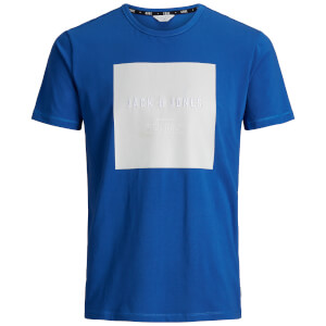 Jack & Jones Men's Core Pretoria T-Shirt - Nautical Blue