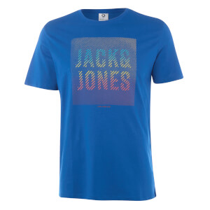 T-Shirt Homme Core Flynn Jack & Jones - Bleu