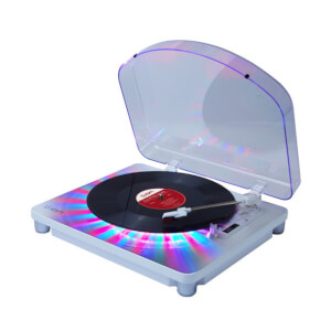ION Photon LP Multi-Color Lighted Turntable with USB Conversion