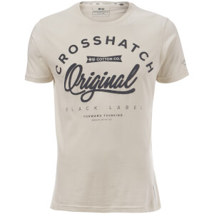 Crosshatch Men's Freemans T-Shirt - Vaporous Grey
