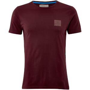 T-Shirt Homme Yasumi Logo Dissident - Rouge Grenat