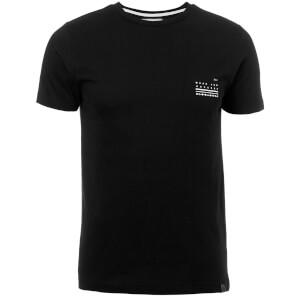 Dissident Men's Hanzo Back Print T-Shirt - Black