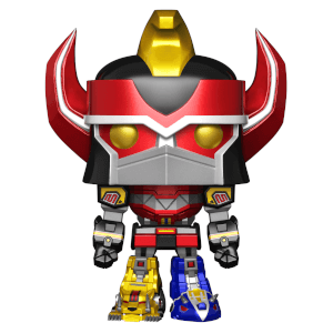 Mighty Morphin Power Rangers - Megazord 15cm Riesen Metallic EXC Pop! Vinyl Figur