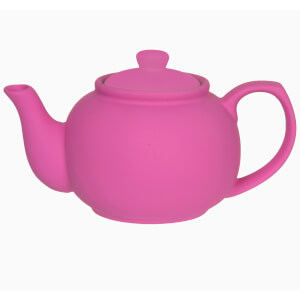 Silk Tea Pot - Neon Pink