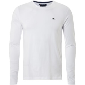Le Shark Men's Lambeth Long Sleeve T-Shirt - Optic White