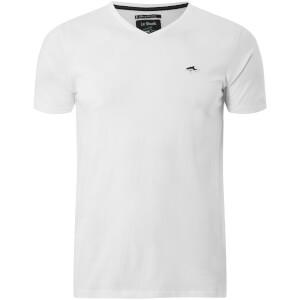 Le Shark Men's Kensal V Neck T-Shirt - Optic White
