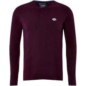 Le Shark Men's Kirkwood Long Sleeve T-Shirt - Wine Tasting