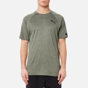 Puma Men's Bonded Tech Short Sleeve T-Shirt - Castor Grey Heather