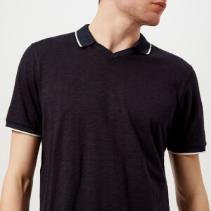 Ted Baker Men's Trophy Neck Polo Shirt - Navy