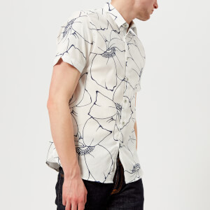 Ted Baker Men's Andle Linea Floral Shirt - White