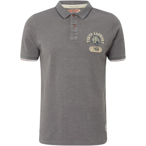 Tokyo Laundry Men's Tiger Bay Polo Shirt - Dark Grey Marl
