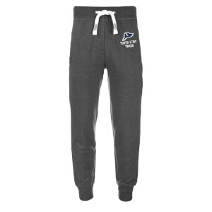 Tokyo Laundry Men's Hollow Sweatpants - Dark Grey Marl