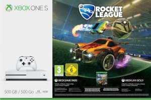 Xbox One S 500GB with Rocket League & 3 Months Xbox Live Gold