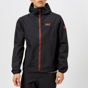 Jack Wolfskin Men's Colourburst Jacket - Black