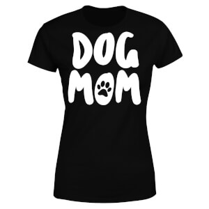 Dog Mom Women's T-Shirt - Black
