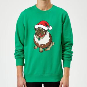 Pull de Noël Homme Puggin - Vert