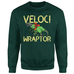 Veloci Wraptor Sweatshirt - Forest Green