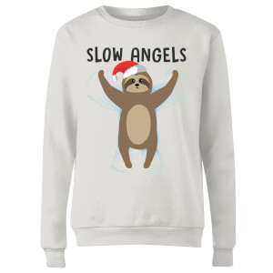 Sweat Femme Slow Angels - Blanc