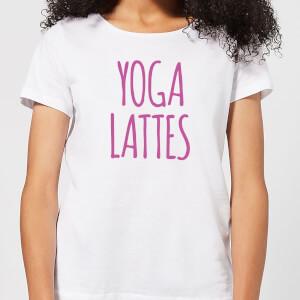 Yoga Lattes Women's T-Shirt - White