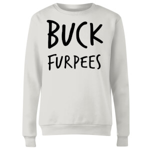 Buck Furpees Women's Sweatshirt - White