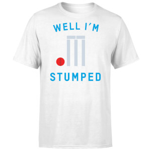 Well Im Stumped T-Shirt - White