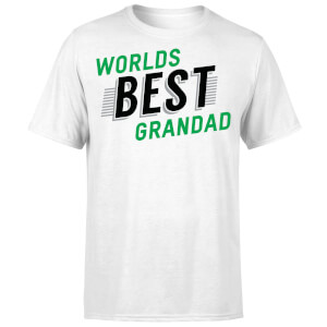 Worlds Best Grandad T-Shirt - White