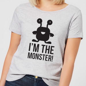 I'm the Monster Women's T-Shirt - Grey