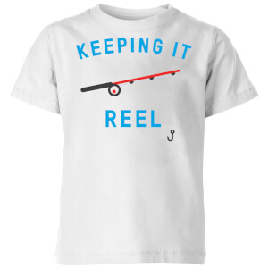 Keeping it Reel Kids' T-Shirt - White