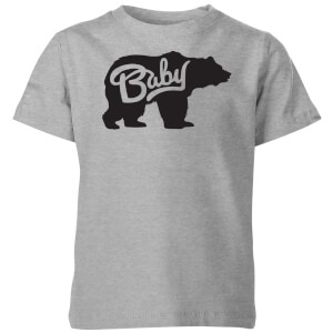 My Little Rascal Baby Bear Kids' T-Shirt - Grey