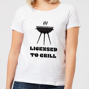 Licensed to Grill Women's T-Shirt - White