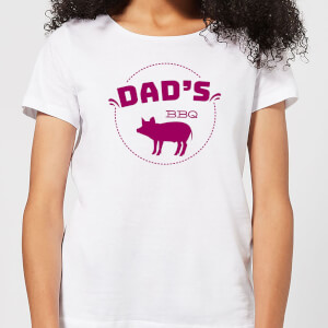 Dads BBQ Women's T-Shirt - White