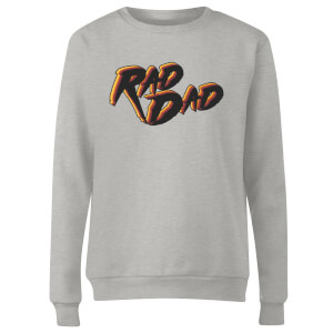 Rad Dad Women's Sweatshirt - Grey
