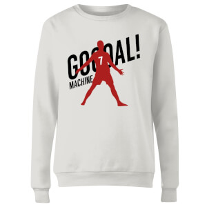 Goal Machine Women's Sweatshirt - White