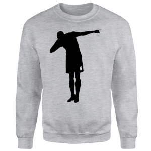 Celebration Dab Sweatshirt - Grey