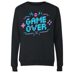 Game Over Gaming Women's Sweatshirt - Black